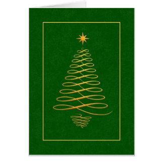 Tarjeta de Navidad del negocio