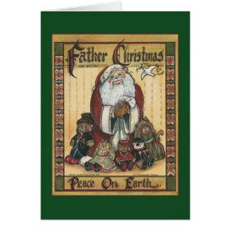 Tarjeta de Navidad del padre