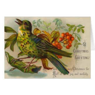 Tarjeta de Navidad del Victorian