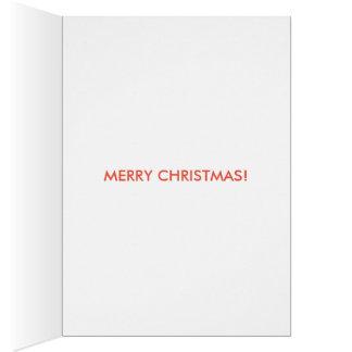 tarjeta de Navidad divertida