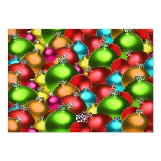 Tarjeta de Navidad Editable de la foto