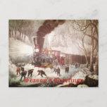 Tarjeta de Navidad encuadernada del negocio del