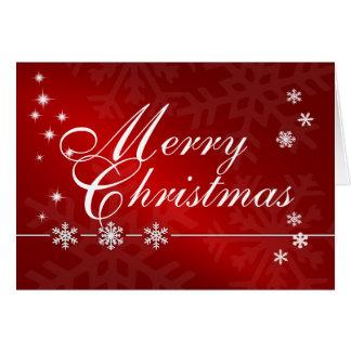 Tarjeta de Navidad - Felices Navidad
