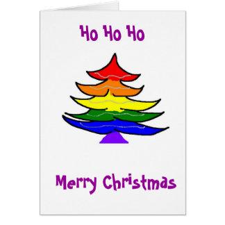 Tarjeta de Navidad lesbiana