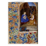 Tarjeta de Navidad medieval 4