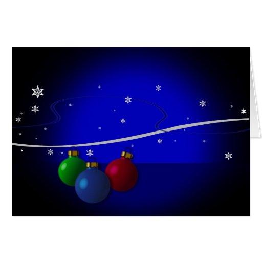 tarjeta de Navidad moderna