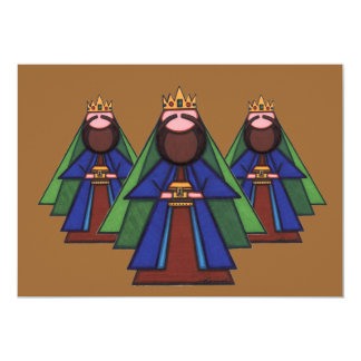 Tarjeta de Navidad religiosa Invitación 12,7 X 17,8 Cm