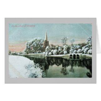 Tarjeta de Navidad, Stratford-sobre-Avon