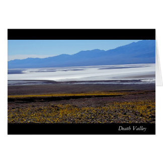 Tarjeta de nota de Death Valley