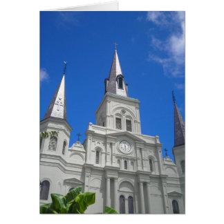Tarjeta de nota de la catedral de St. Louis