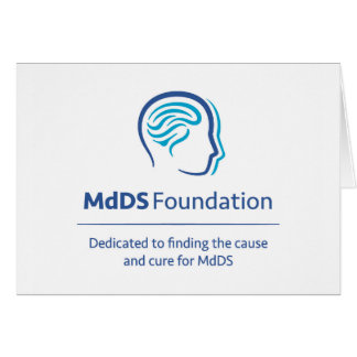 Tarjeta de nota de la conciencia de MdDS
