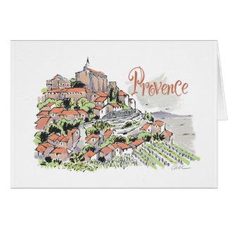 Tarjeta de nota de Provence Gordes