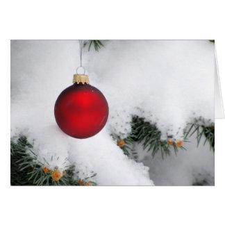 Tarjeta de nota del navidad/tarjeta de
