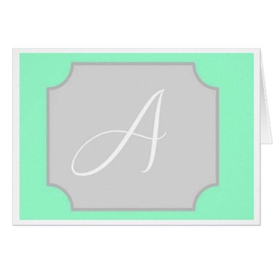 Tarjeta de nota inicial