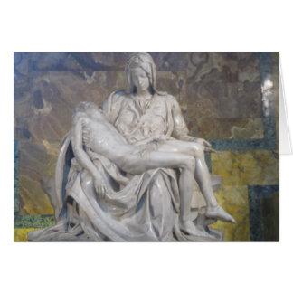 Tarjeta de pascua--Pieta del La