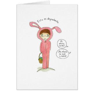 Tarjeta de Pascuas