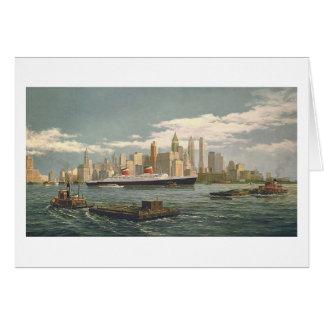 "Tarjeta de Paul McGehee ""Nueva York"""