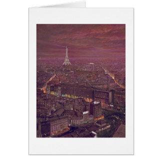 "Tarjeta de Paul McGehee ""París"""