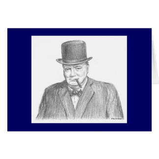 "Tarjeta de Paul McGehee ""Winston Churchill"""
