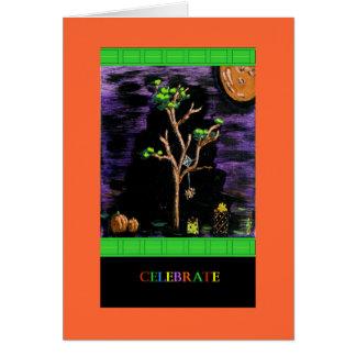 Tarjeta de PedagogyGreetings: Feliz Halloween