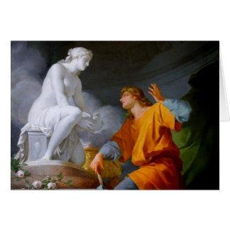 Tarjeta ~ de Pygmalión (mitología griega - Galathea)