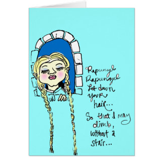 Tarjeta de Rapunzel