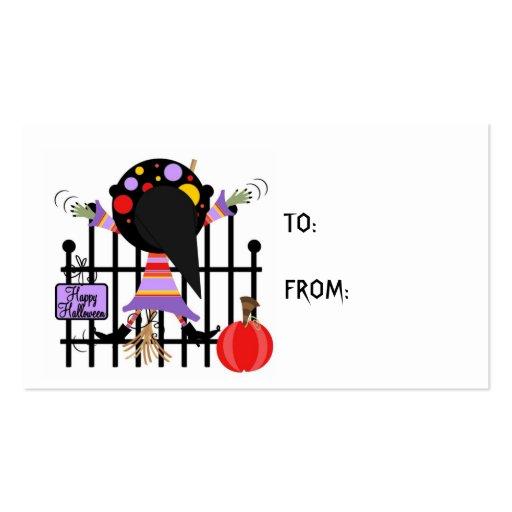 Tarjeta de regalo de Halloween Tarjetas De Visita