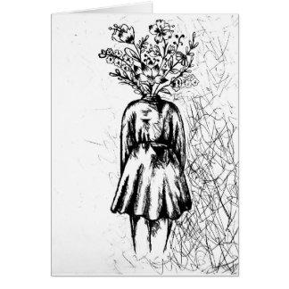 tarjeta de regalo de uso múltiple floral
