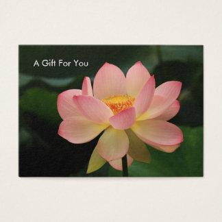 Tarjeta de regalo del terapeuta del masaje de la
