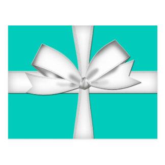 Tarjeta de regalo del trullo con la postal del