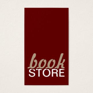 tarjeta de sacador de la librería