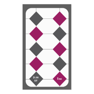 Tarjeta de sacador de la tarjeta de visita de la l