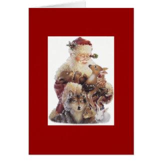 Tarjeta de Santa
