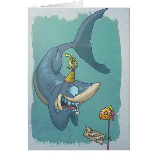 Tarjeta de Sharky