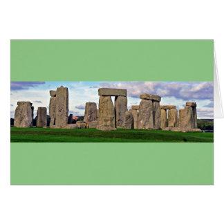 Tarjeta de Stonehenge