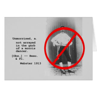 Tarjeta de Unmorrised