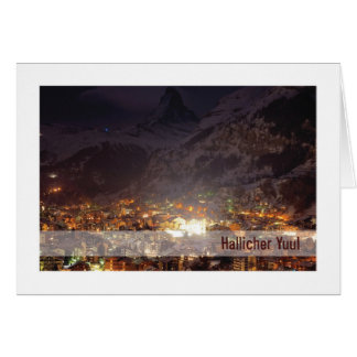 Tarjeta de Urglaawe Yuul:: Luces de la montaña