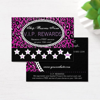 Tarjeta De Visita 10mas recompensas de la lealtad de la visita del