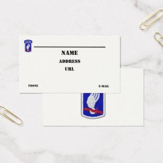 Tarjeta De Visita 173o La brigada aerotransportada de ABN revisa el