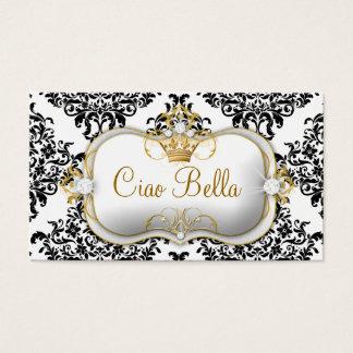 Tarjeta De Visita 311 Ciao Bella y damasco precioso de Dovey
