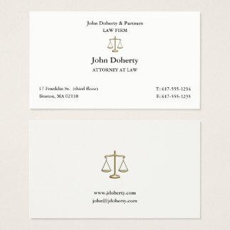 Tarjeta De Visita Abogado con clase en el abogado de la ley el |