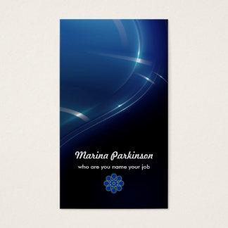 tarjeta de visita abstracta