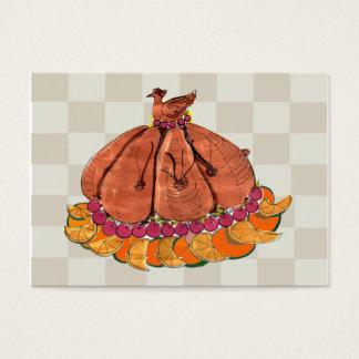 Tarjeta De Visita Acción de gracias festiva Placecard
