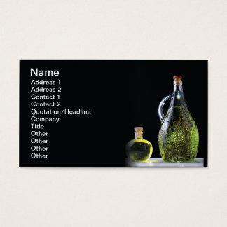 Tarjeta De Visita Aceite y brandy de oliva