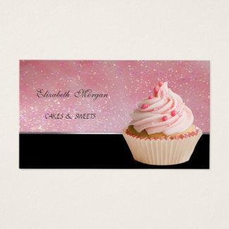 Tarjeta De Visita Adorable lindo, panadería de la magdalena