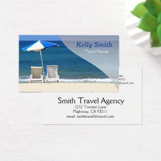 Tarjeta De Visita Agencia del planificador del viaje