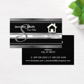 Tarjeta De Visita Agente del profesional de las propiedades