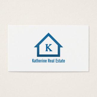 Tarjeta De Visita Agente inmobiliario profesional moderno de las