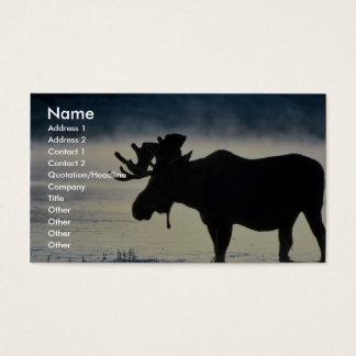 Tarjeta De Visita Alces de Bull