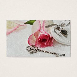 Tarjeta De Visita Amor eterno